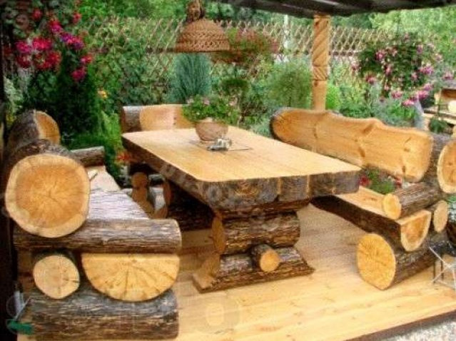 The Advantages of Using Rustic Outdoor Furniture | Interior Desi