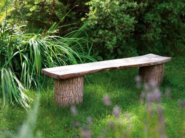 The Most Awesome 30 DIY Benches for Your Garden | Garden seating .