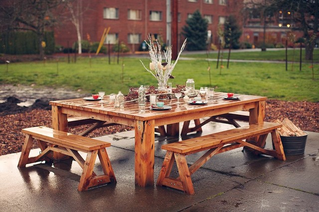 Custom Outdoor Furniture - Rustic - Patio - Portland - by Ragsdale .