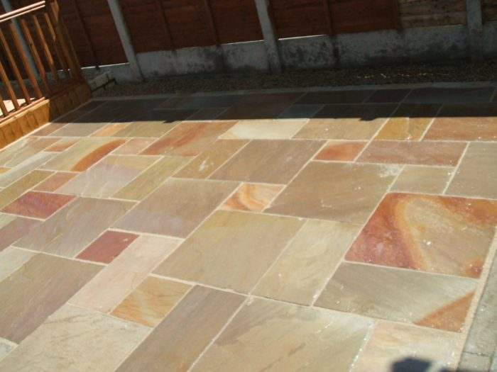 How To Clean Indian Sandstone Paving Slabs | DeMilk