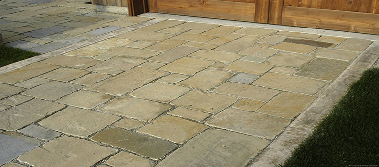 How to Install Sandstone Pavers – Stone Wal