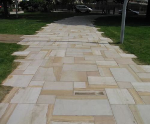 SANDSTONE PAVERS images of finished projects - PAVING IDEAS in .