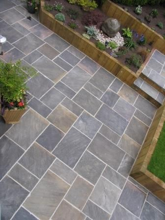 GALAXY NATURAL SANDSTONE PAVING Great pattern and colour. Also .