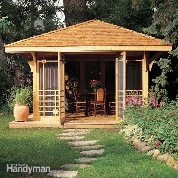 Screen House Plans | Family Handym