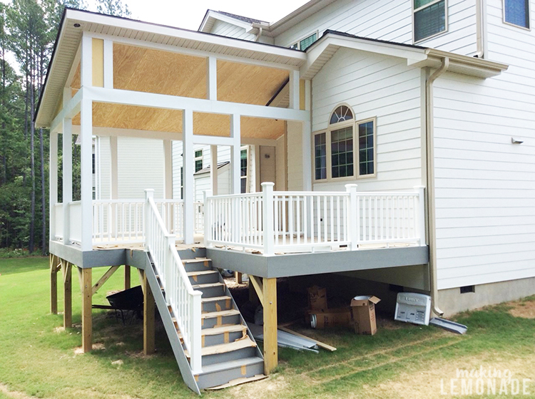 Three-Season Screened Porch & Deck Addition: The Plan and .
