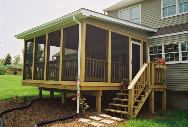 The Advantages of Screened Porches in Maryla