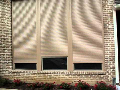 Security Shutters Dallas for home house motorized rolling metal .