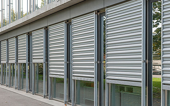 Security shutters   Sun protection with STOB