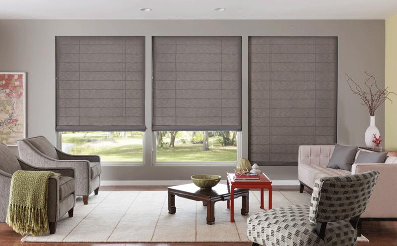 Roman Shade - blinds,shades,window treatme