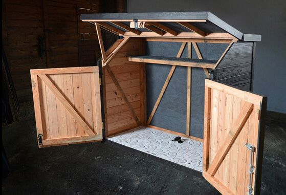 Bicycle Storage Solutions | Shed storage, Bike storage solutions .