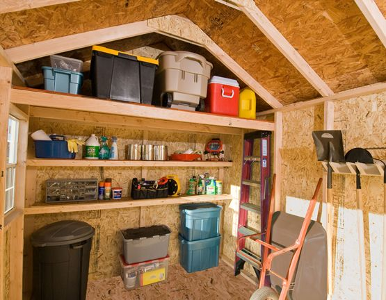 Shed Storage Solution