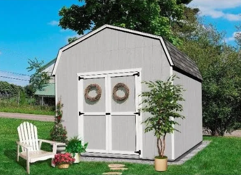 Little Cottage Company 6 Foot Gambrel Barn Value Shed Storage .