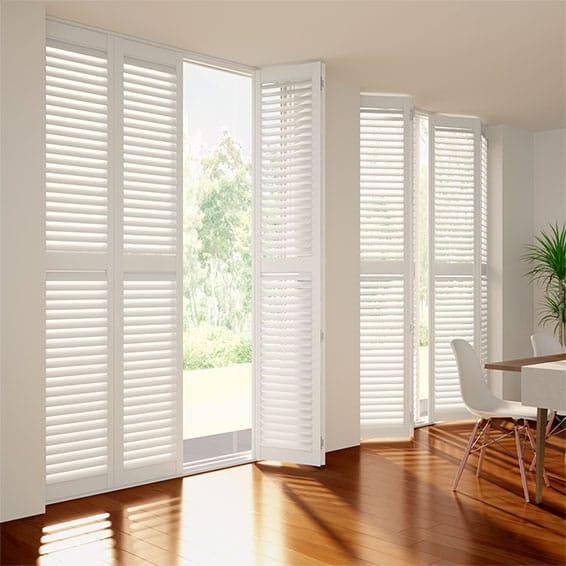 Window Shutters 2go™ | White Shutters for Windows for Les