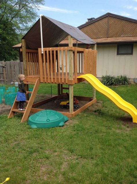 best 14 simple backyard playground ideas for your kids | Backyard .