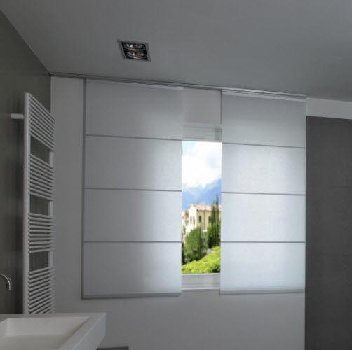 Sliding panel blinds / Japanese paper / sun protection / custom .