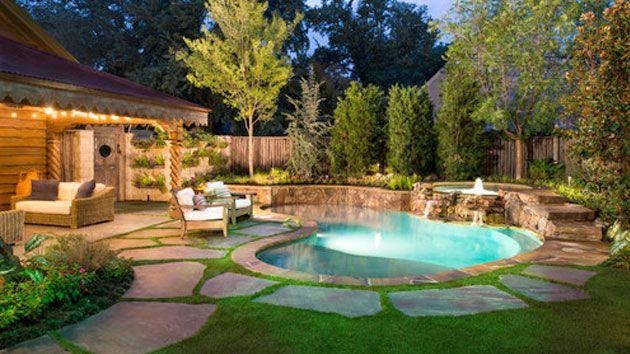 15 Amazing Backyard Pool Ideas   Small backyard pools, Small pool .