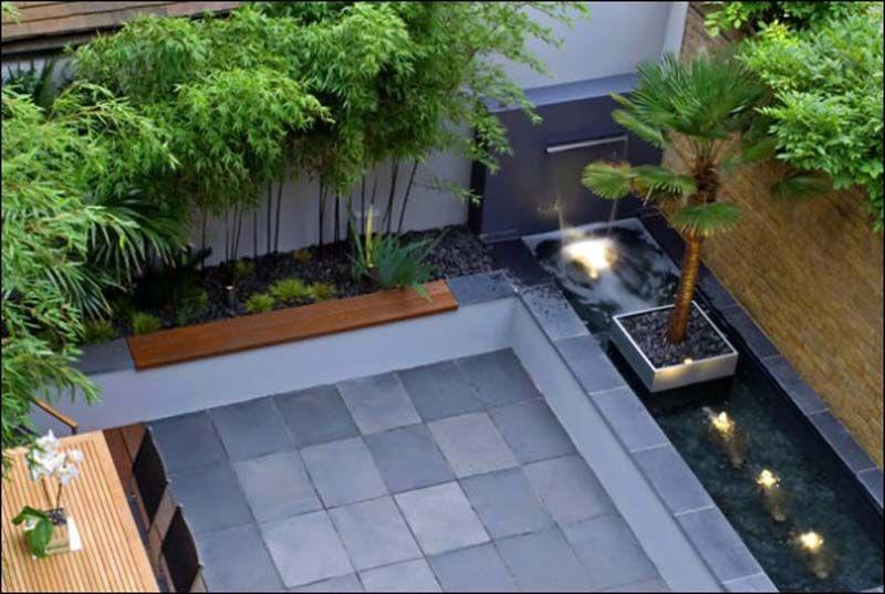 Courtyard Garden Design Ideas Roof Gardens And Landscape Designs .