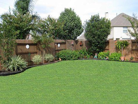 Small Square Backyard Landscaping Ideas Perfect Small Back Yard .