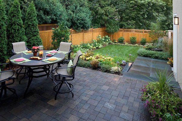 Small Backyard Landscape Easy ~ http://makerland.org/small .