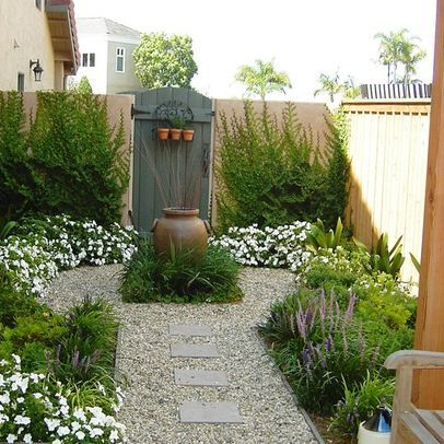 Mediterranean Home Small Front Yard Landscaping Ideas Design .