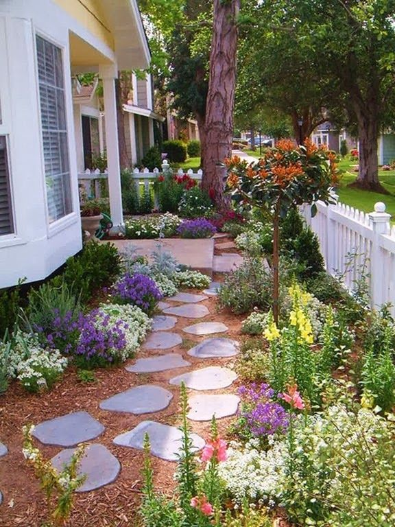 Home and Lifestyle Design | Small front yard landscaping, Front .