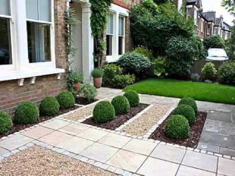 Small front garden design - YouTu