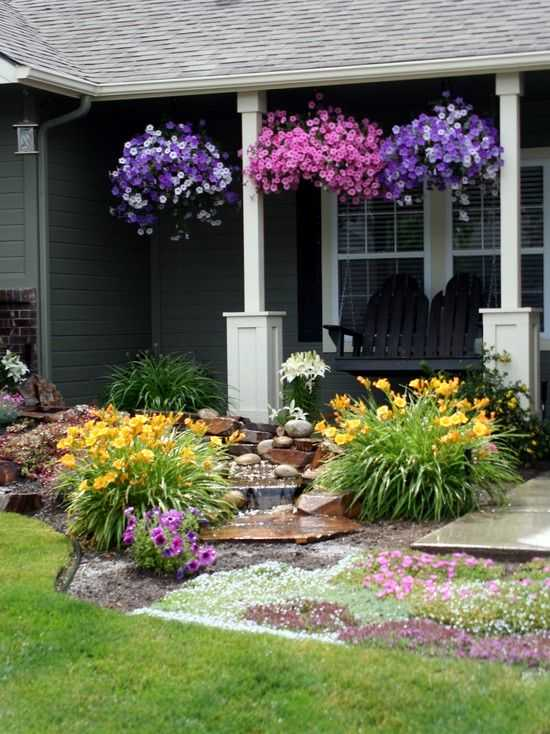 28 Beautiful Small Front Yard Garden Design Ide