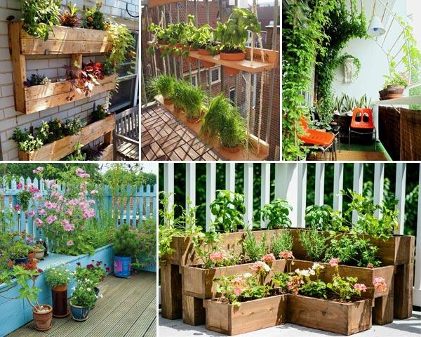 Best 12 Tiny Garden Ideas to Dress Up Your Balco