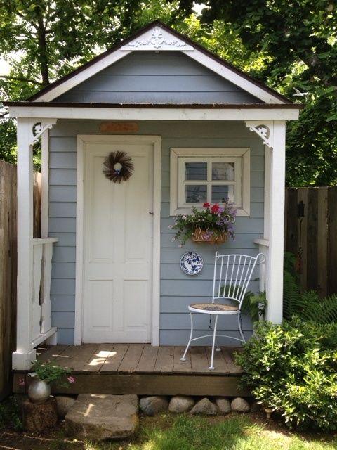 15 Stunning Garden Shed Ideas | Cottage garden sheds, Backyard .
