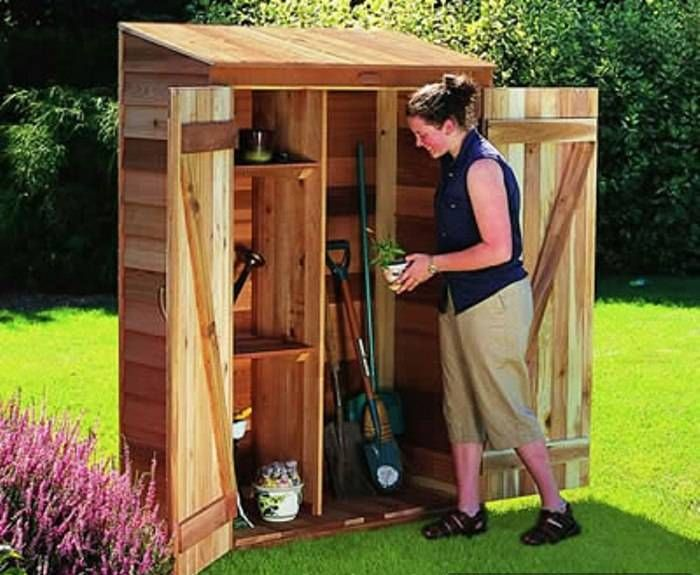 Making Small Storage Sheds Over the Weekend | Garden tool storage .