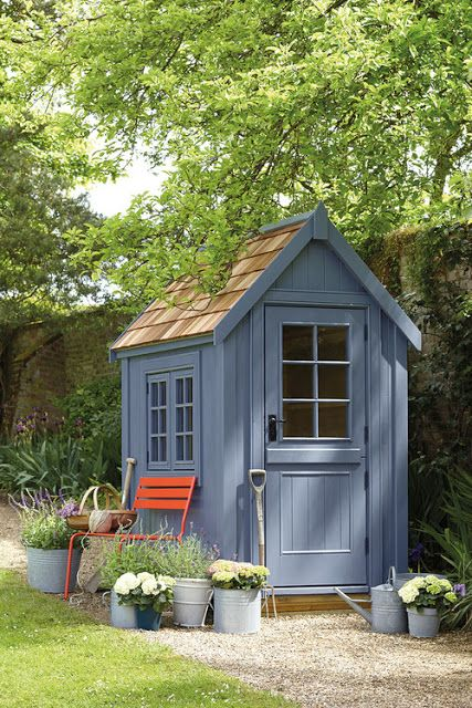 Fabulous UK Garden Shed | Content in a Cottage .
