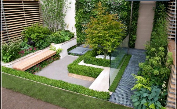 Small garden Design Ideas, Pictures | Residential landscapi