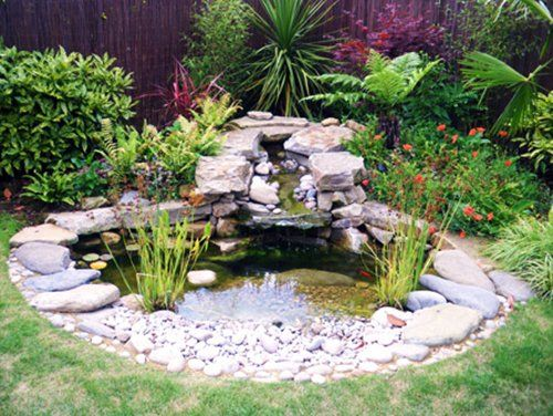 Fresh Mini Ponds Ideas For Small Garden | Garten ideen, Gartentei