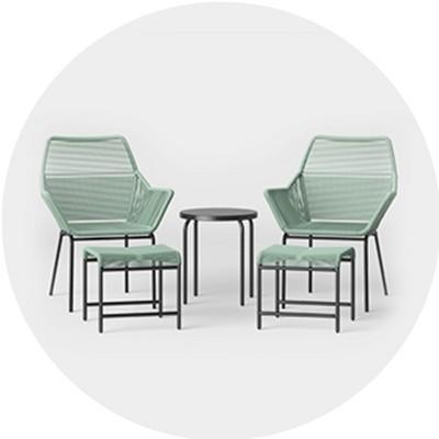 Small Space Patio Furniture, & Garden : Targ