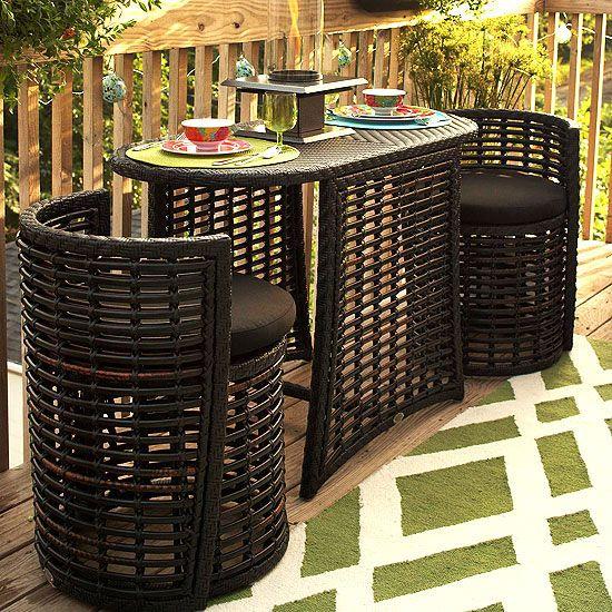 Outdoor Storage Solutions | Balcony furniture, Budget patio, Patio .