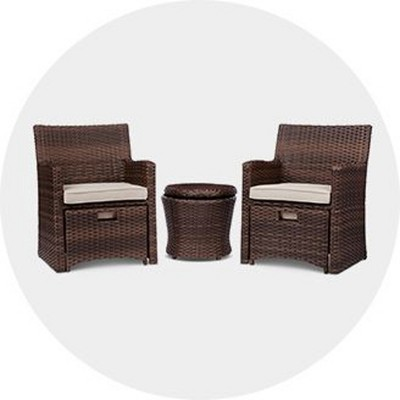 Patio Lounge Sets : Small Space Patio Furniture : Targ