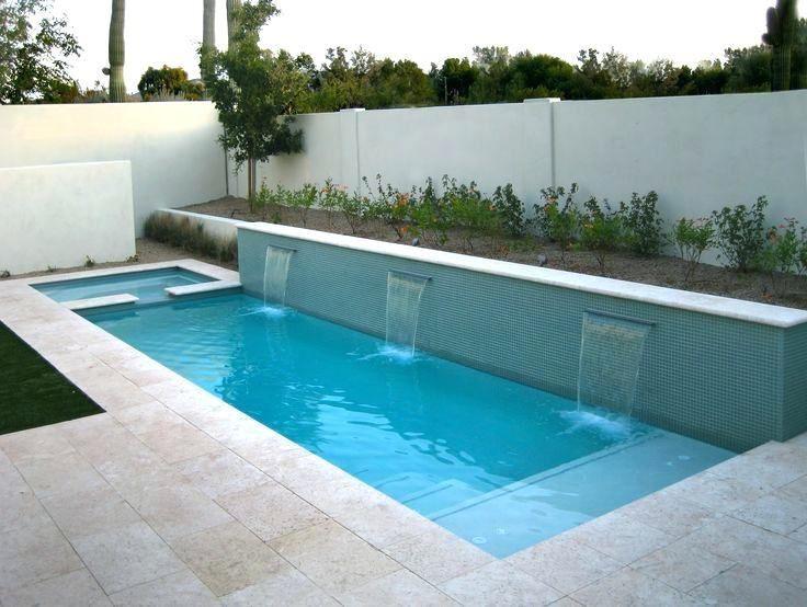 Backyard Lap Pool Designs | Small pool design, Small backyard .