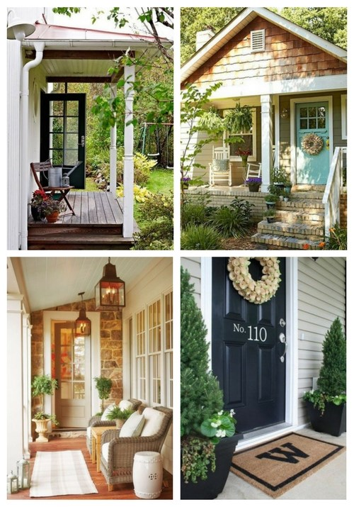 24 Cute Small Porch Decor Ideas To Try | ComfyDwelling.c