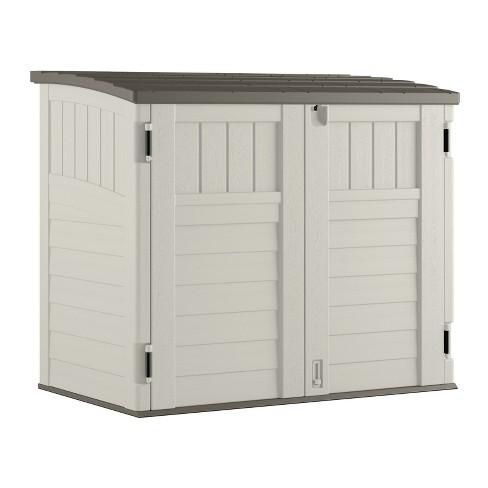 Small Horizontal Storage Shed - Vanilla - Suncast : Targ