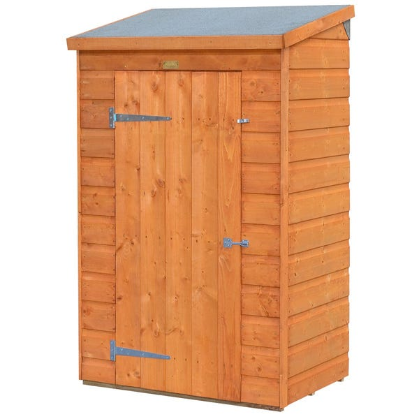Shop Small Outdoor Wood Storage Shed - On Sale - Overstock - 97238