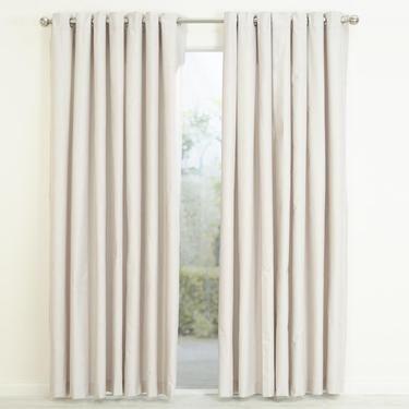 Gummerson Bolton Eyelet Curtain Linen 270 - 340 x 223 cm .