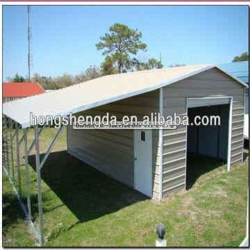 sell steel structure metal garage ,metal carports,metal cover made .