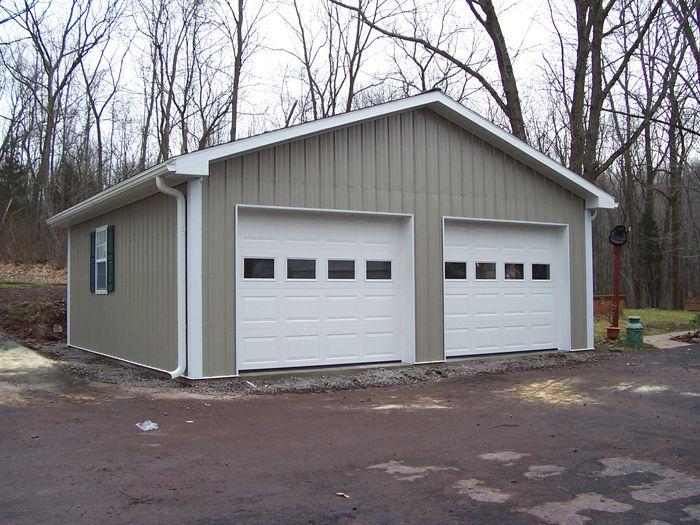 Pole Barn Garage Buildings | Metal building homes, Metal garage .