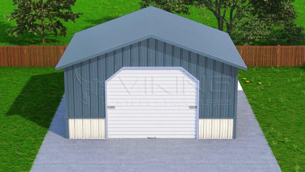 Metal Garages- Side Entry Car Garage Prices, Steel Garage Shop Onli