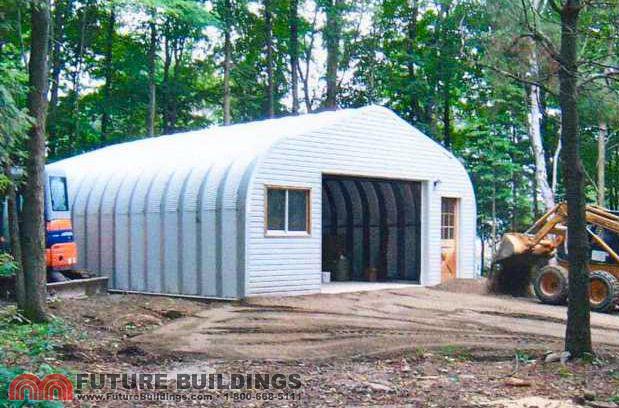 Metal Garage Kits and Steel Building Kits | Future Buildin