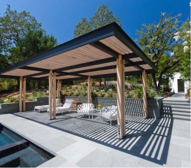 Steel Pergolas Ideas And Designs | Outdoor pergola, Pergola .