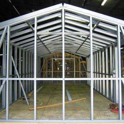 Steel Dura Frame | Pro Built Barns, Buildings, and She