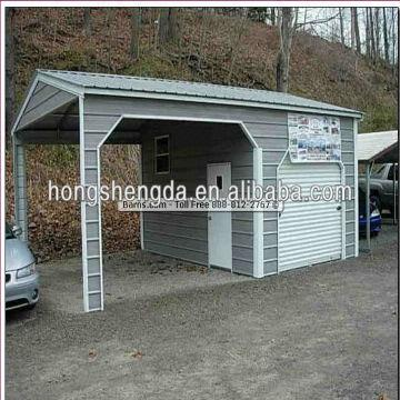 shandong steel garages,metal carport canopies,steel shed china .