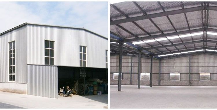 Steel Structure Shed - Customized Steel Structure Supplied by .