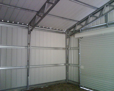 dIg: Free access Steel shed truss desi
